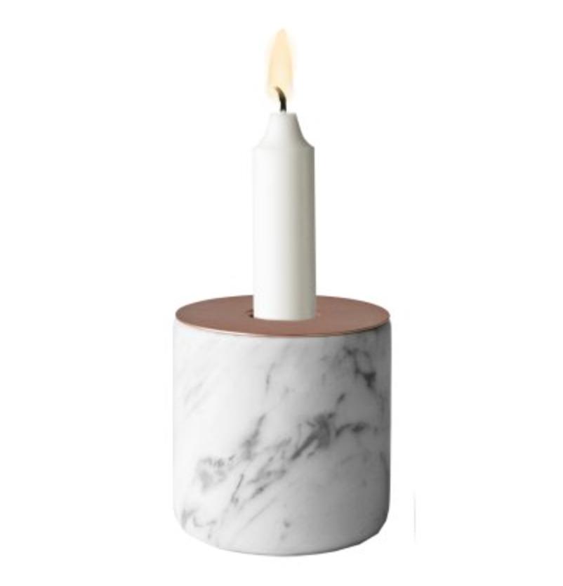 marmor lysestake kopper