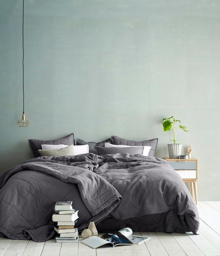 Soverom med grønn vegg 2015
