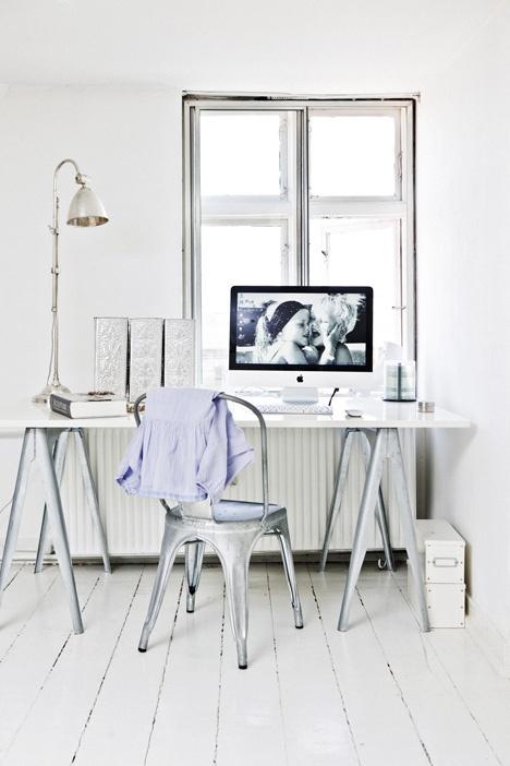 Tolix stol i metall interiør