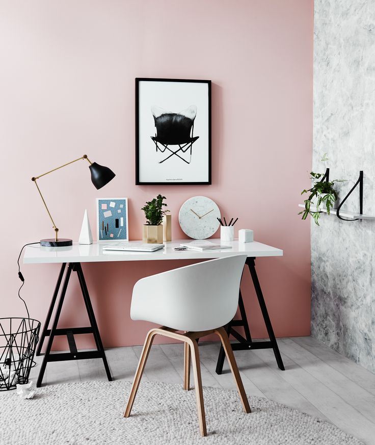 About a chair stol i hvit på kontor