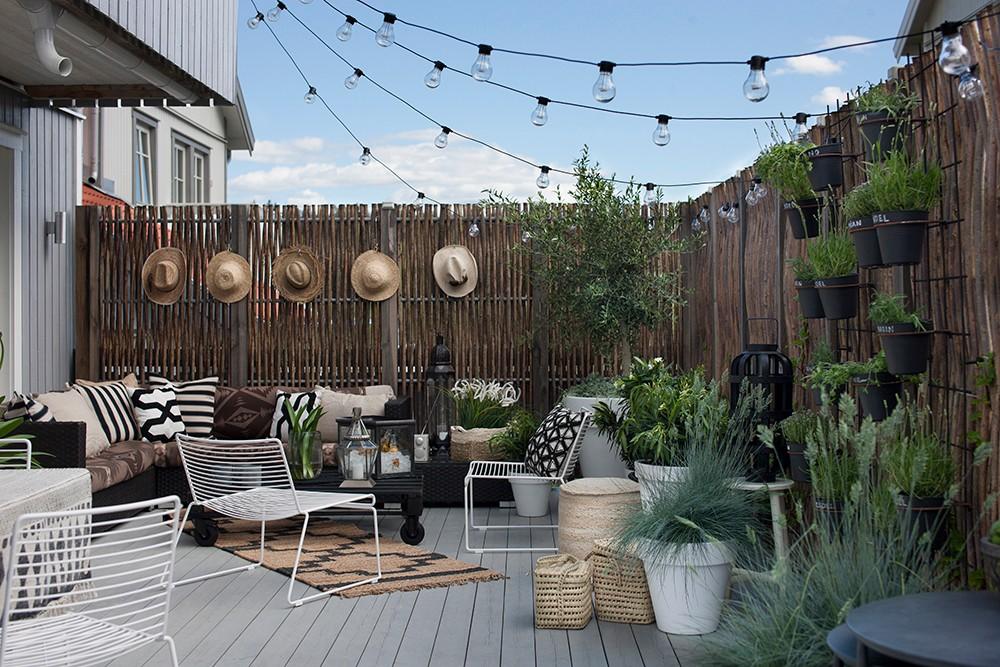 Inspirasjon hage og terrasse interi for Stile a casa canada