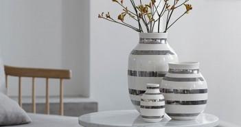 Kähler omaggio sølvvase i norge