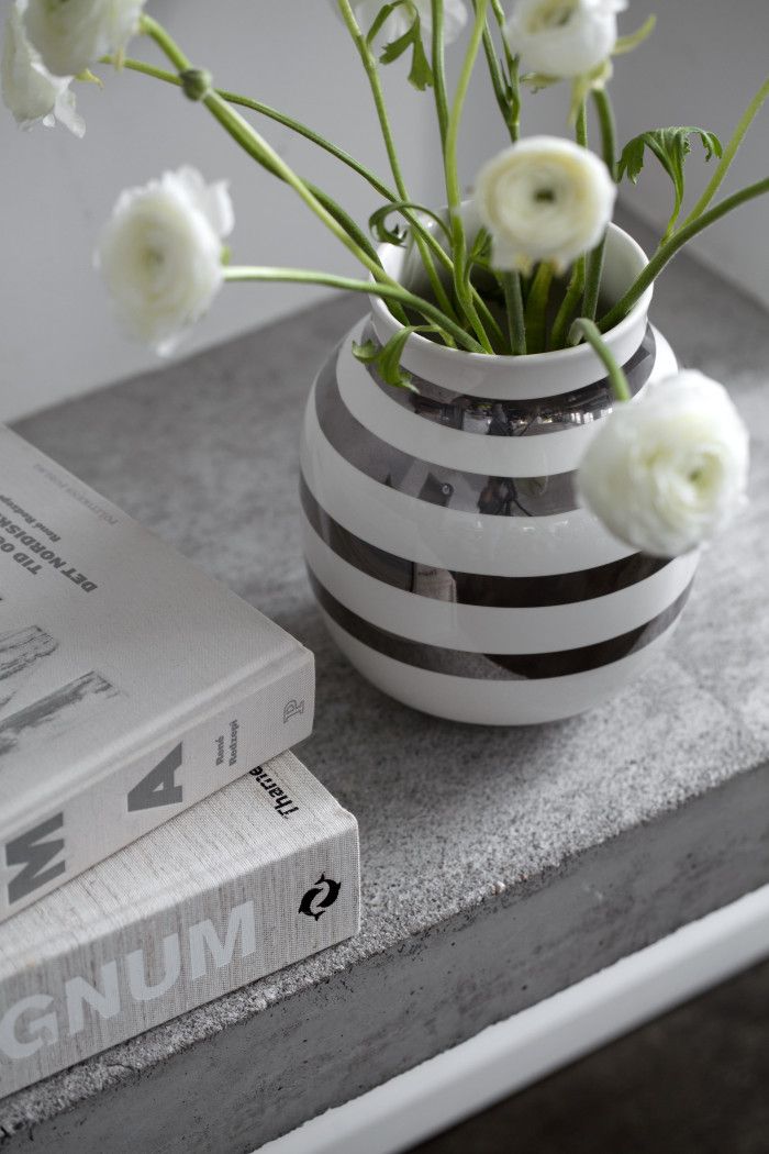 Kähler omaggio sølv vase