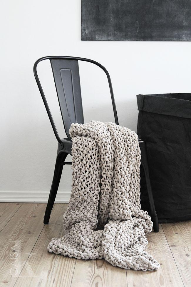 Tolix stol i svart