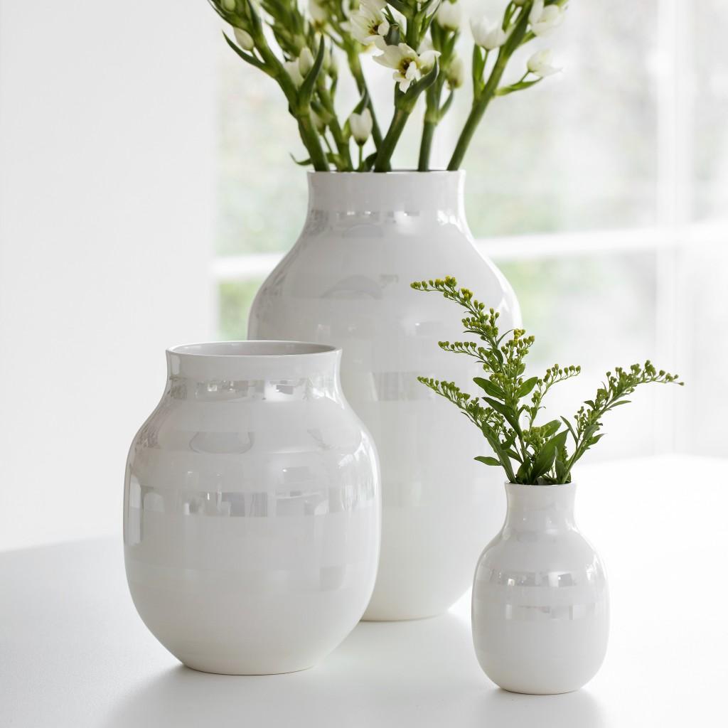Den nye omaggio perlemor vasen